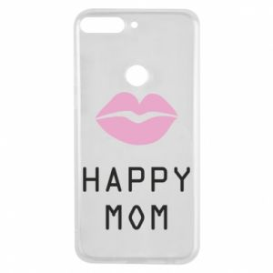 Phone case for Huawei Y7 Prime 2018 Happy mom - PrintSalon