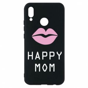 Phone case for Huawei P20 Lite Happy mom - PrintSalon