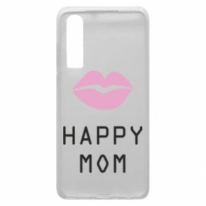 Phone case for Huawei P30 Happy mom - PrintSalon