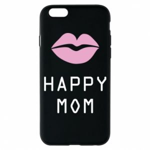 Phone case for iPhone 6/6S Happy mom - PrintSalon