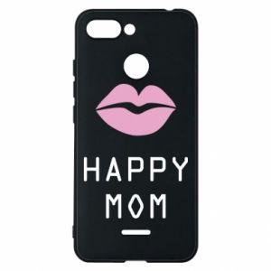 Phone case for Xiaomi Redmi 6 Happy mom - PrintSalon