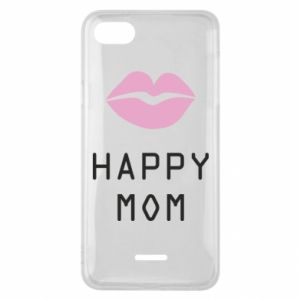 Phone case for Xiaomi Redmi 6A Happy mom - PrintSalon