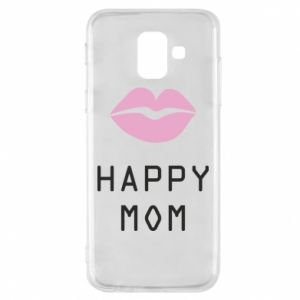 Phone case for Samsung A6 2018 Happy mom - PrintSalon
