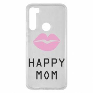 Xiaomi Redmi Note 8 Case Happy mom