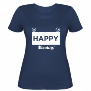 Damska koszulka Happy Monday
