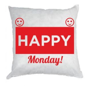 Poduszka Happy Monday