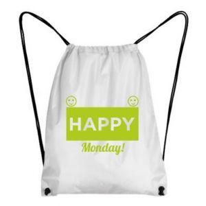 Plecak-worek Happy Monday