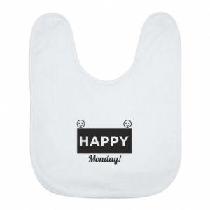Śliniak Happy Monday