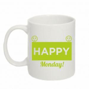 Kubek 330ml Happy Monday