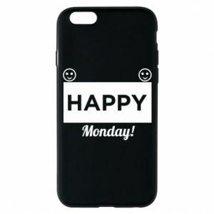 Etui na iPhone 6/6S Happy Monday