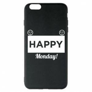 Etui na iPhone 6 Plus/6S Plus Happy Monday