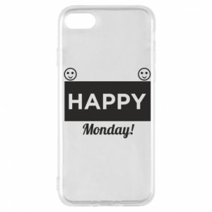 Etui na iPhone 7 Happy Monday