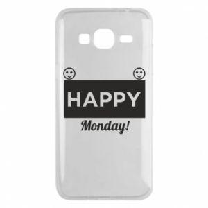 Etui na Samsung J3 2016 Happy Monday
