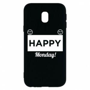 Etui na Samsung J3 2017 Happy Monday