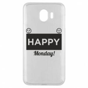 Etui na Samsung J4 Happy Monday