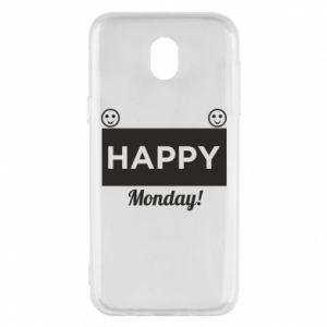 Etui na Samsung J5 2017 Happy Monday