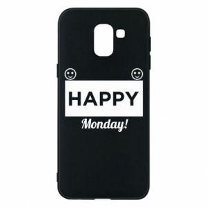 Etui na Samsung J6 Happy Monday