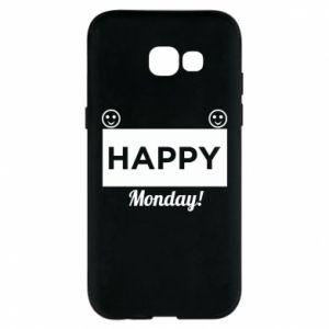 Etui na Samsung A5 2017 Happy Monday