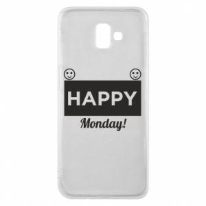 Etui na Samsung J6 Plus 2018 Happy Monday