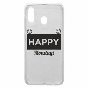 Etui na Samsung A30 Happy Monday