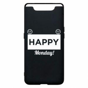 Etui na Samsung A80 Happy Monday