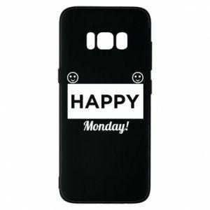 Etui na Samsung S8 Happy Monday