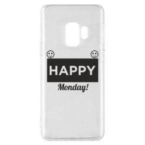 Etui na Samsung S9 Happy Monday