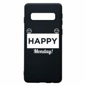 Etui na Samsung S10 Happy Monday