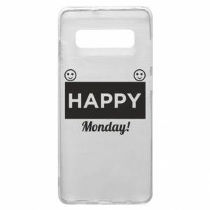 Etui na Samsung S10+ Happy Monday