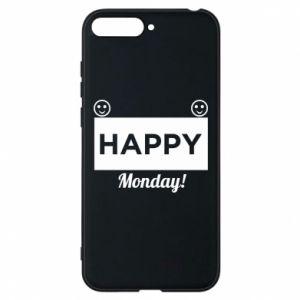 Etui na Huawei Y6 2018 Happy Monday
