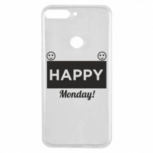 Etui na Huawei Y7 Prime 2018 Happy Monday