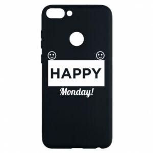 Etui na Huawei P Smart Happy Monday