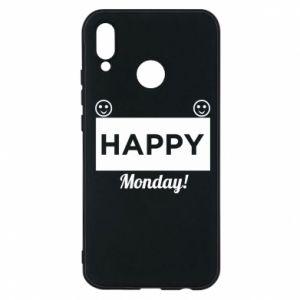 Etui na Huawei P20 Lite Happy Monday