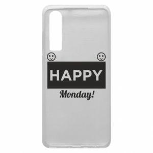 Etui na Huawei P30 Happy Monday