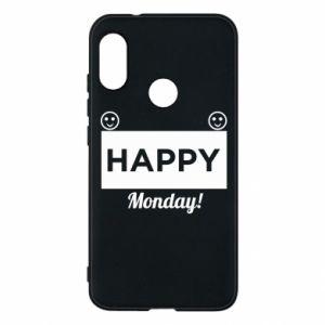 Etui na Mi A2 Lite Happy Monday