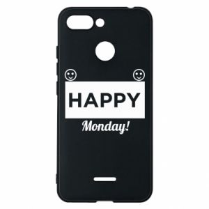 Etui na Xiaomi Redmi 6 Happy Monday