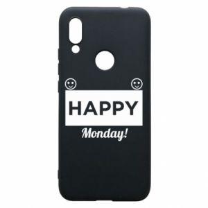 Etui na Xiaomi Redmi 7 Happy Monday