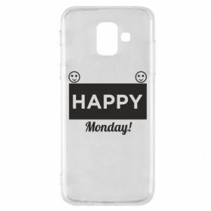 Etui na Samsung A6 2018 Happy Monday