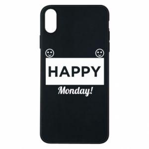 Etui na iPhone Xs Max Happy Monday