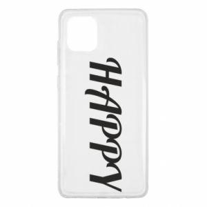 Etui na Samsung Note 10 Lite Happy, napis