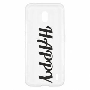 Etui na Nokia 2.2 Happy, napis