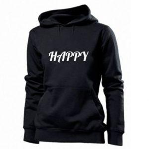 Damska bluza Happy, napis