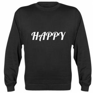 Bluza (raglan) Happy, napis