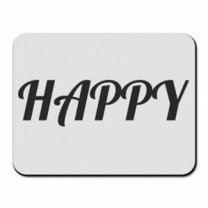 Podkładka pod mysz Happy, napis