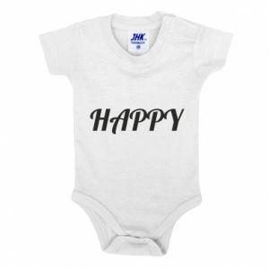 Body dla dzieci Happy, napis