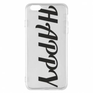 Etui na iPhone 6 Plus/6S Plus Happy, napis