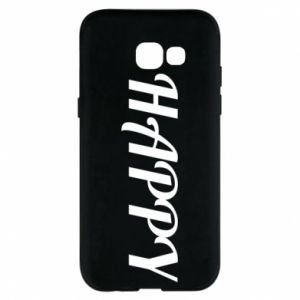 Phone case for Samsung A5 2017 Happy, inscription