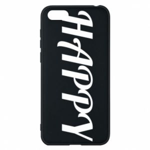 Phone case for Huawei Y5 2018 Happy, inscription