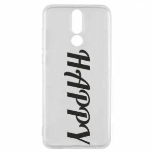 Phone case for Huawei Mate 10 Lite Happy, inscription