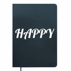 Notes Happy, napis